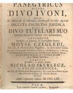 Panegyricus Dictus Divo Ivoni Dum In Cathedrali S. Michaelis Archangeli Ecclesia Agriensi Juridica (Moyse Czegledi)