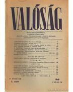 Valóság 1948. február 2. szám