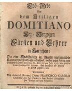 Lob- Rede Von dem Heiligen Domitiano