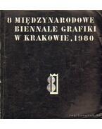 8 miedzynarodowe biennale grafiki w krakowie, 1980