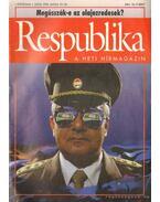 Respublika 1994. I. évfolyam (hiányos)