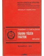 Tankönyv a tartalékos tábori tüzértisztek részére