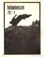 Fotóművészet 1972. XV. évfolyam (teljes)