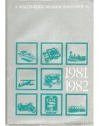 A Közlekedési Múzeum évkönyve VI. 1981-1982
