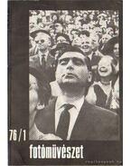 Fotóművészet 1976. XIX. évfolyam (teljes)