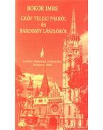 Bokor Imre Gróf Teleki Pálról és Bárdossy Lászlóról