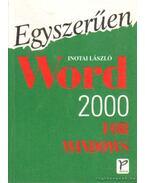 Egyszerűen Word 2000 for Windows