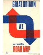 Great Britain A to Z reversible road map (térkép)