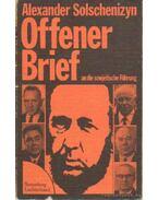 Offener Brief an die sowjetische Führung (September 1973)