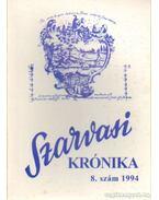 Szarvasi Krónika 1994. 8. szám