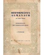 Református almanach az 1928. évre