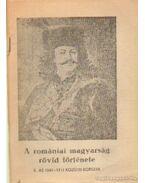 A romániai magyarság rövid története
