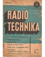 Rádiótechnika 1942, julius 7. szám