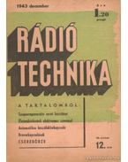 Rádiótechnika 1943. december 12. szám