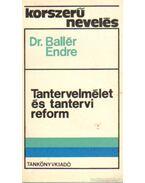 Tantervelmélet és tantervi reform
