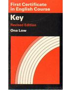 First Certificate in English Course Key Ona Low