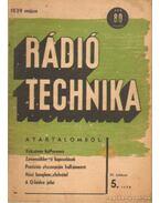 Rádiótechnika 1939. május 5. szám