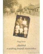 Adalékok a zsidóság fonyódi történetéhez