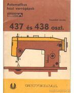Automatikus házi varrógépek Predom Lucnik 437 és 438 oszt