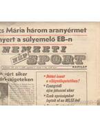 Nemzeti Népsport 1990. Augusztus (teljes) - Szekeres István