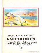 Bakony-Balaton Kalendárium 1991