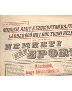 Nemzeti Népsport 1990. Március (teljes)