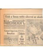 Népsport 1981. Október (teljes)