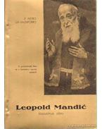 Leopold Mandic kapucinus atya (sárga)
