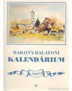 Bakony-Balaton kalendárium 1995