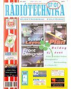 Rádiótechnika 2007. évfolyam (teljes) - Békei Ferenc