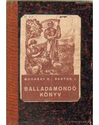 Balladamondó könyv