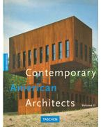 Contemporary American Arcitects volume II.