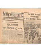 Népsport 1984. November (teljes)