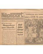 Népsport 1984. Október (hiányos)