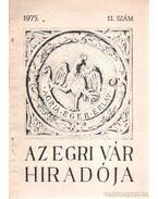 Az egri vár hiradója 1975. 11. szám