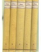 Ausgewählte werke in fünf bänden band I-V.