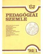 Új Pedagógiai Szemle 1992/1