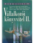 Vállalkozói könyvvitel II.