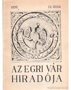 Az egri vár hiradója 1976. 12. szám