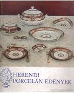 Herendi porcelán edények
