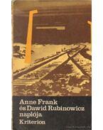 Anne Frank és Dawid Rubinowicz naplója