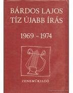 Tíz újabb írás 1969-1974
