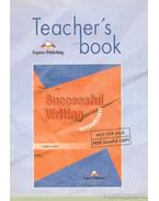 Teacher's book successful writing intermediate