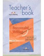 Teacher's book successful writing intermediate