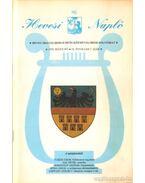 Hevesi Napló 1999/5