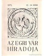 Az Egri Vár Híradója 1977/13-14. szám