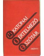 Katonai értelmező szótár