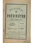 Felvidéki Prédikátor 1940. január 1. szám