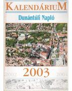 Dunántúli Napló Kalendárium 2003