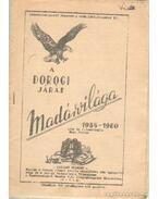 A dorogi járás madárvilága 1935-1960